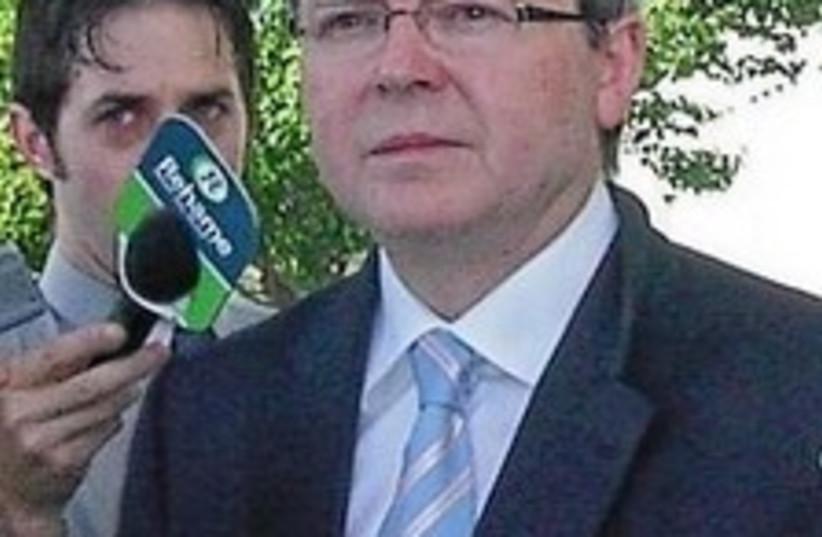 Kevin Rudd 224.88 (photo credit: Courtesy)