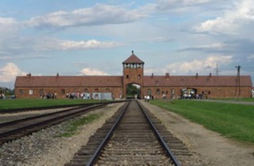 Aushwitz Birkenau entrance 311 (photo credit: Courtesy)