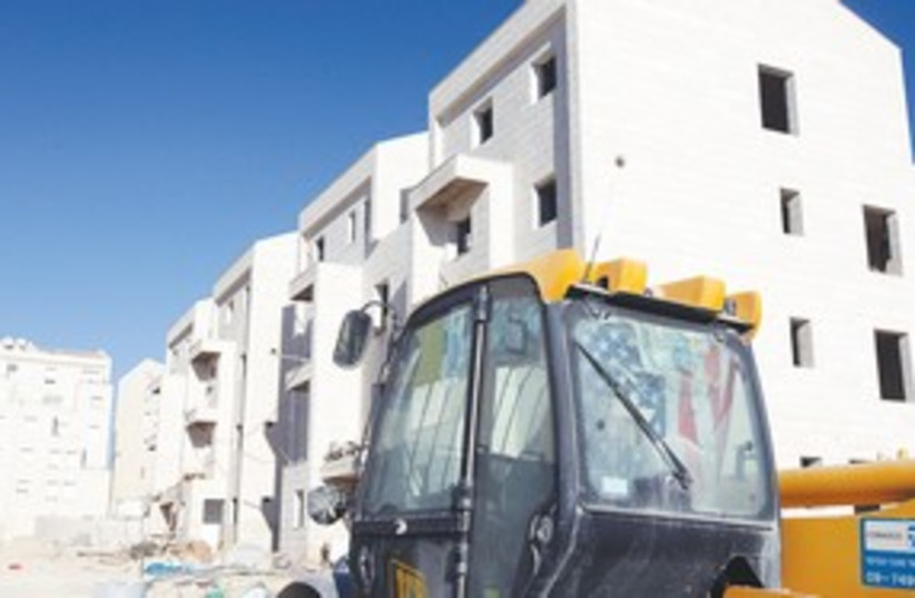 Givat Ze'ev construction 311 (photo credit: Marc Israel Sellem)