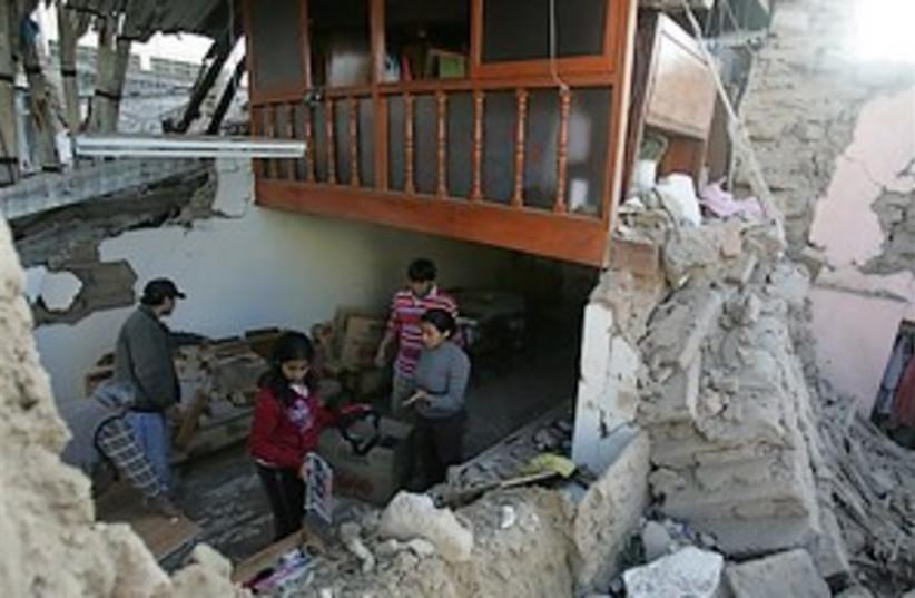 Peru quake 298.88 (photo credit: AP)