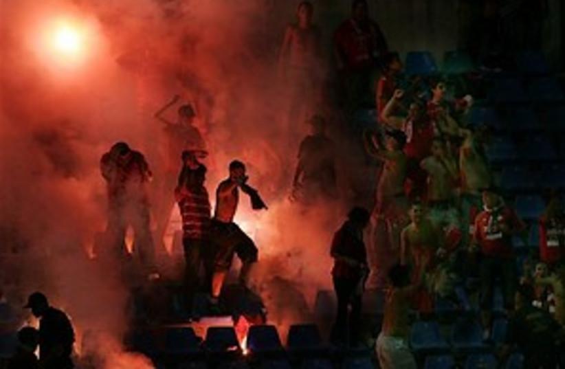 hapoel TA fans 298.88 (photo credit: AP [file])