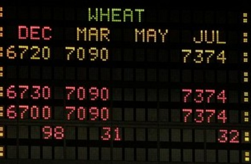 wheat prices_311 (photo credit: Associated Press)