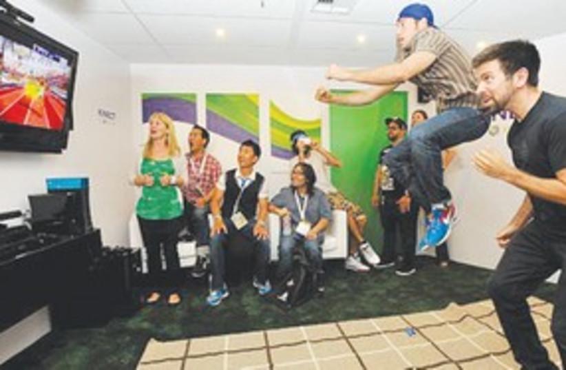 Microsoft Kinect gamers 311 (photo credit: Courtesy)