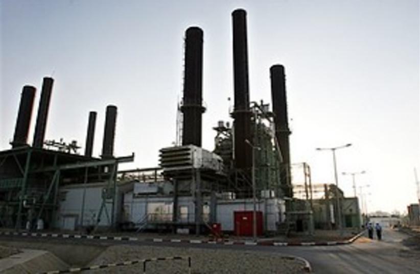 gaza power station 298.8 (photo credit: AP)