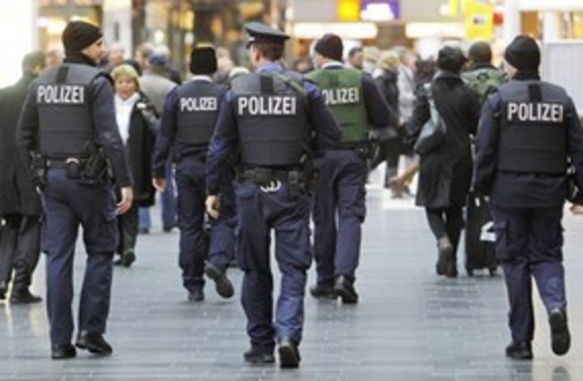 German police 311 AP (photo credit: Associated Press)