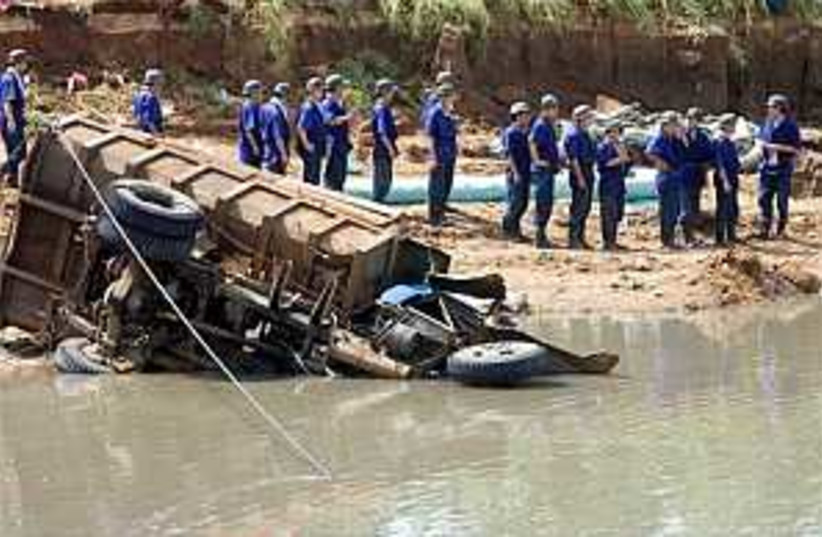china mine flood 298 88 (photo credit: AP)
