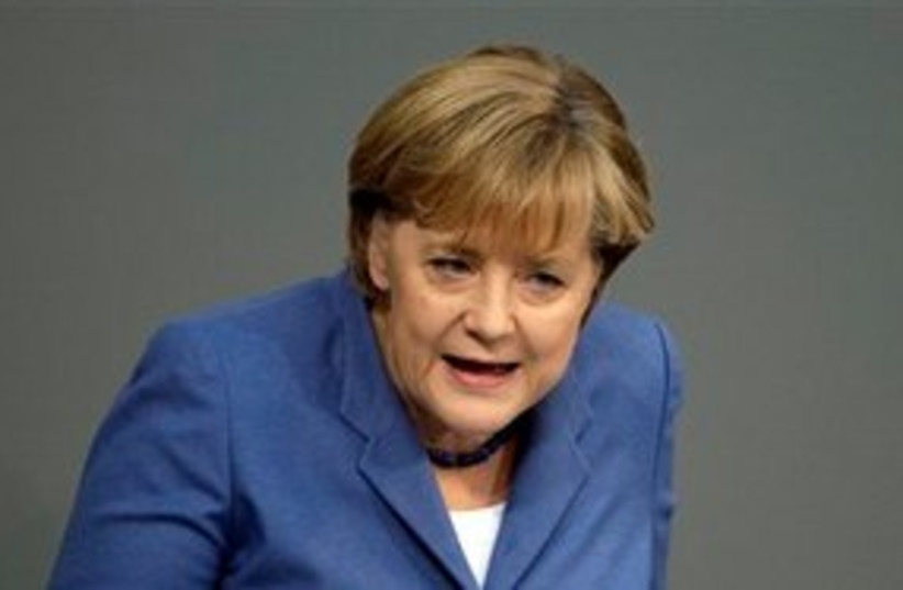 Angela Merkel 311 (photo credit: Associated Press)