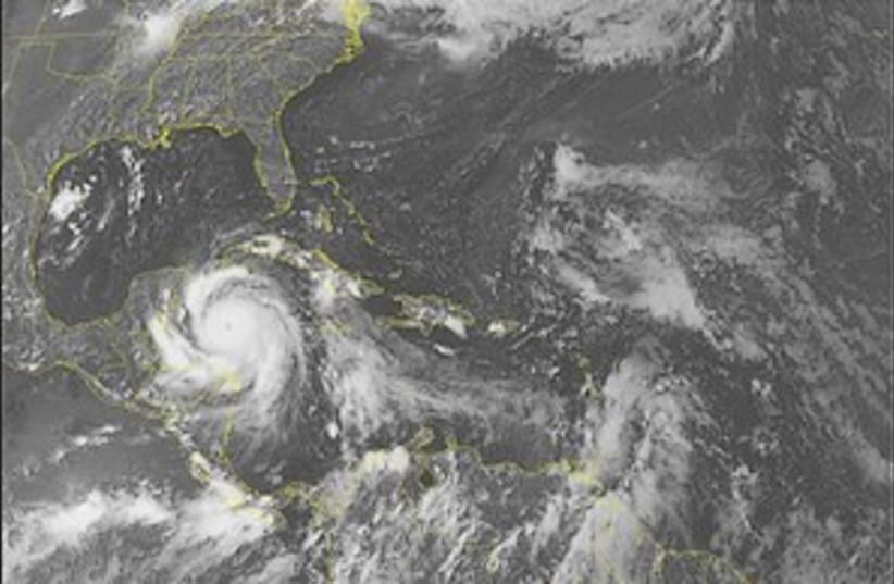 Hurricane dean 298.88 (photo credit: AP)
