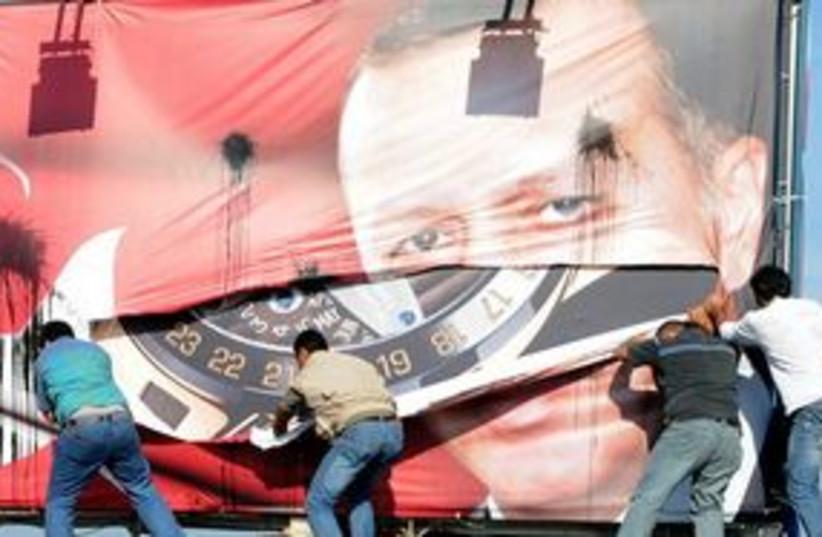 Erdogan Armenians Protest 311 (photo credit: Associated Press)