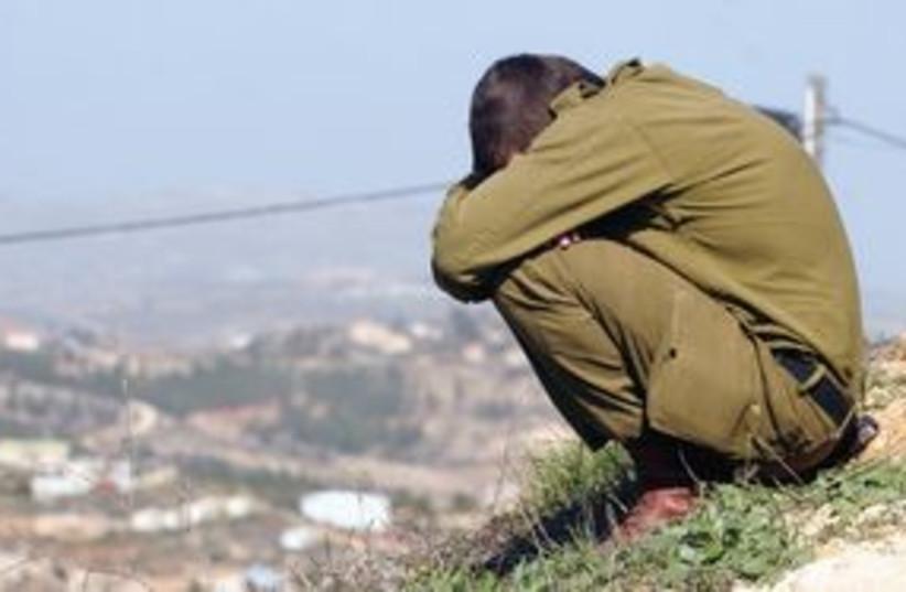 Soldier Depressed 311 (photo credit: Marc Israel Sellem)