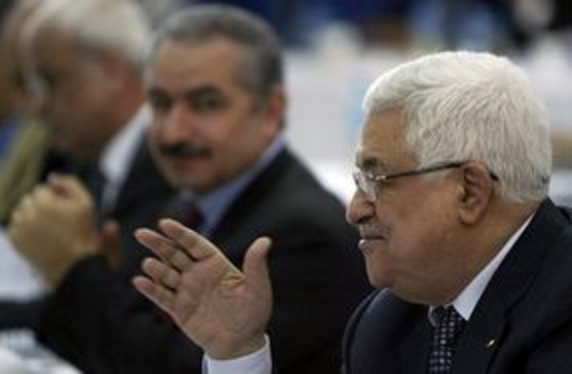 Abbas Fatah Meeting 311 (photo credit: Associated Press)