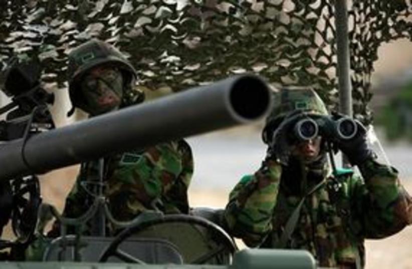South Korea US Exercise 311 (photo credit: Associated Press)