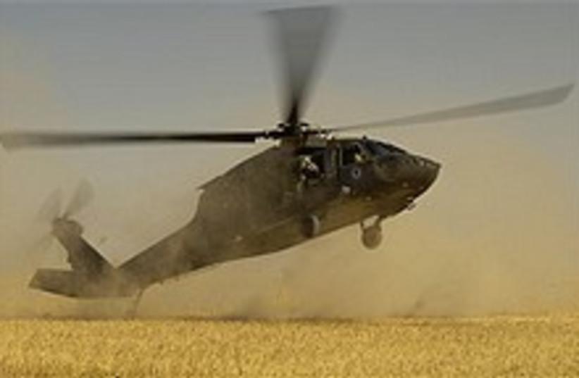 blackhawk helicopter 224 (photo credit: AP)