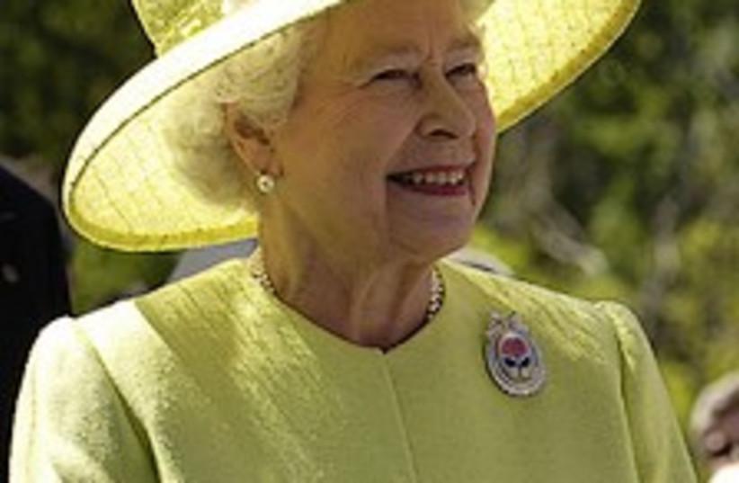 queen elizabeth 224.88 (photo credit: Courtesy)