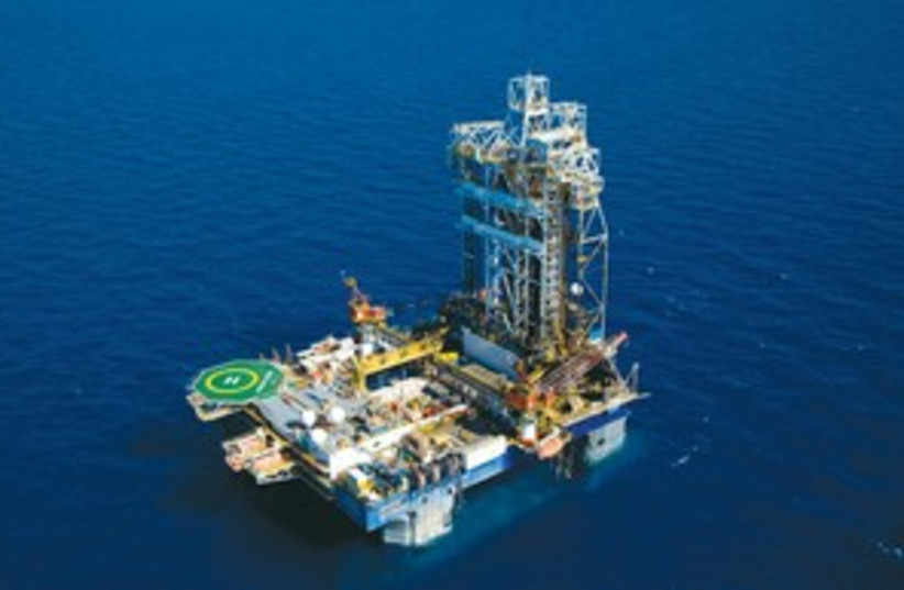 leviathan gas drill (photo credit: (Albatross))