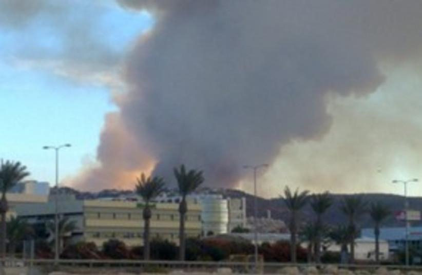 Carmel fire 311 (photo credit: Israel Police)