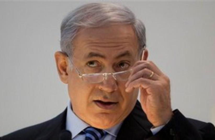 Binyamin Netanyahu 311 AP (photo credit: AP)