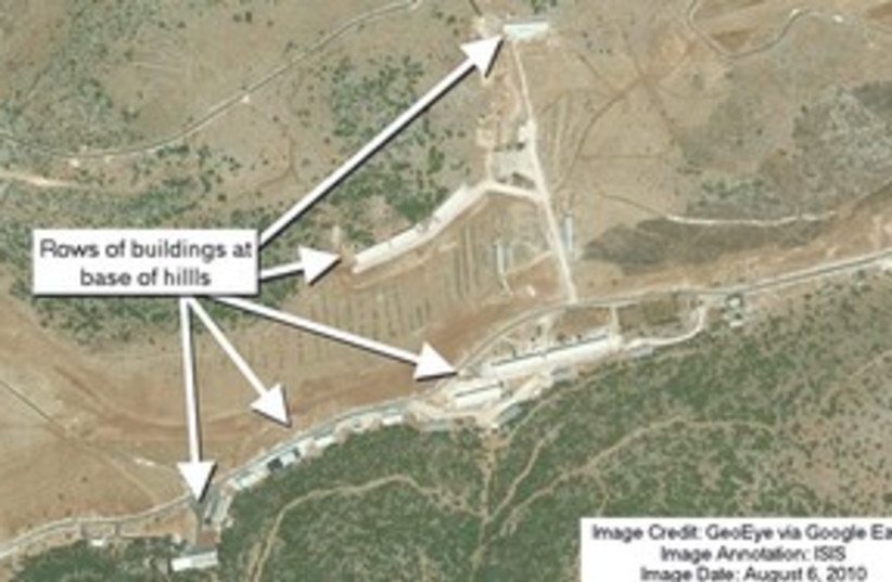 Syrian nuclear site 311 (photo credit: Courtesy)