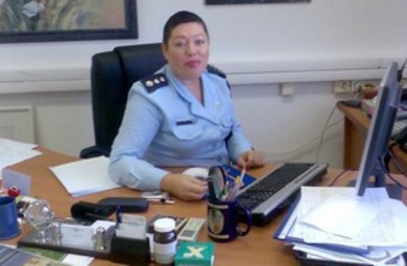 Haifa Police Chief Dep.-Cmdr. Ahuva Tomer 311 (photo credit: Israel Police)