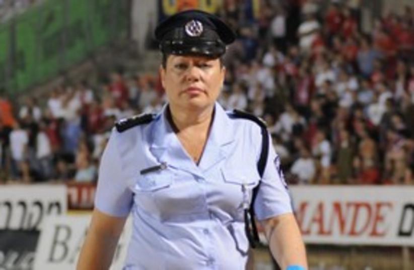 Haifa Police Chief Dep.-Cmdr. Ahuva Tomer 311 (photo credit: Yaakov Levy, Northern District Police)