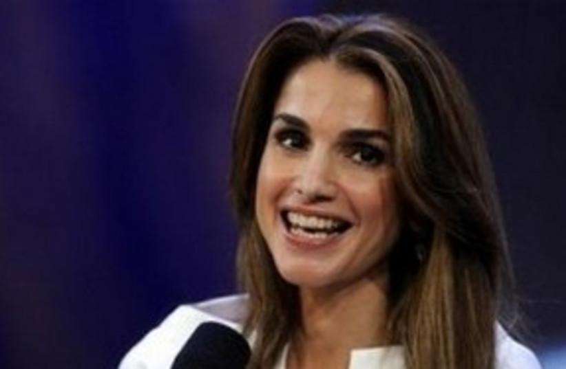 Jordan's Queen Rania 311 AP (photo credit: AP)