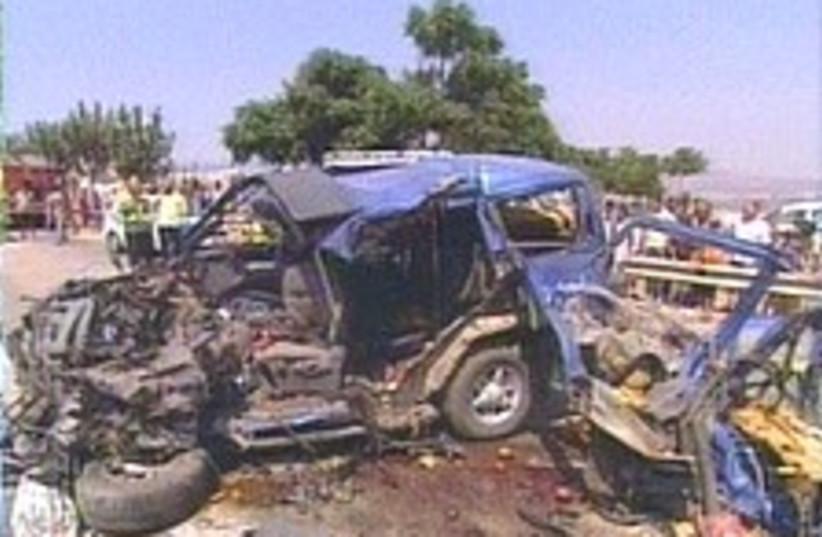 crash 224.88 (photo credit: Channel 2)