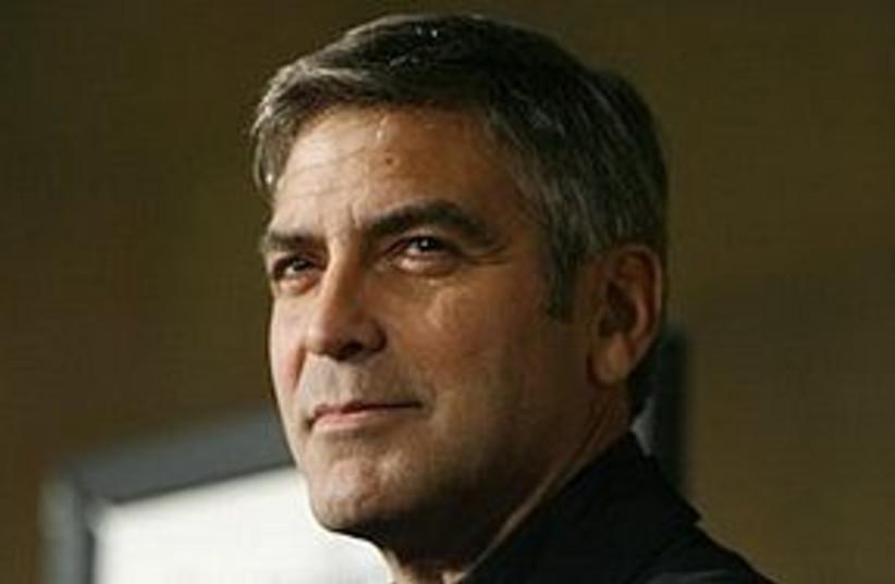 George Clooney 311 (photo credit: AP)