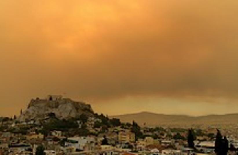 greece fires 224.88 (photo credit: AP)