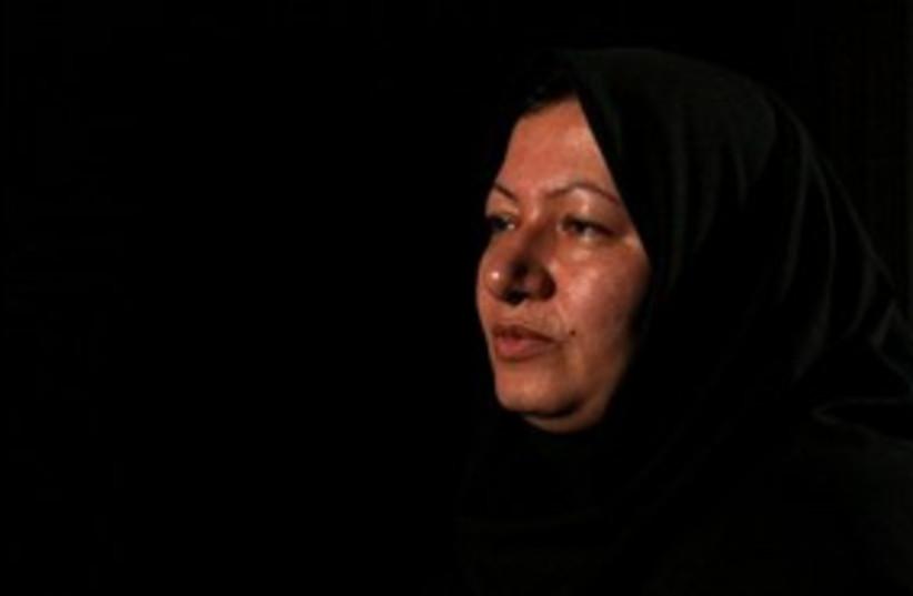 Sakineh Mohammedi Ashtiani Iran stoning 311 AP (photo credit: Associated Press)