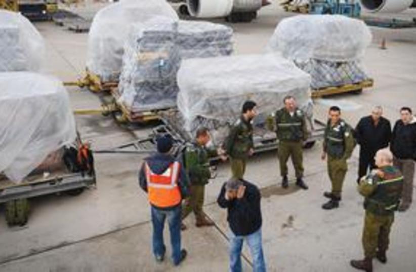 Columbia 311 (photo credit: IDF Spokesperson's office)