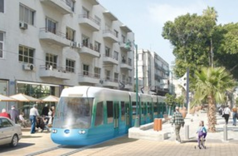 tel aviv light rail_311 (photo credit: (Neta-Metropolitan Mass Transit System))