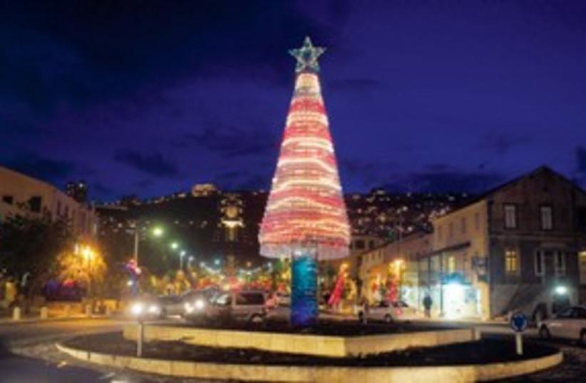 Christmas Haifa 311 (photo credit: Associated Press)