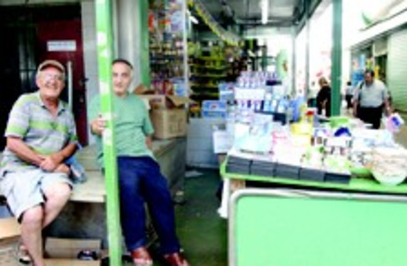 Shopkeepers in the south (photo credit: Israel Sun , JRep)