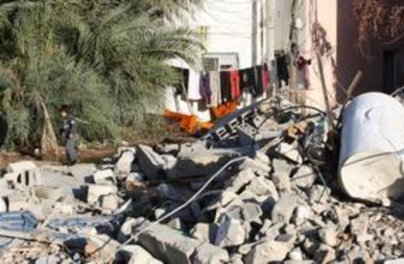 Lod Demolition 311 (photo credit: Ben Hartman)