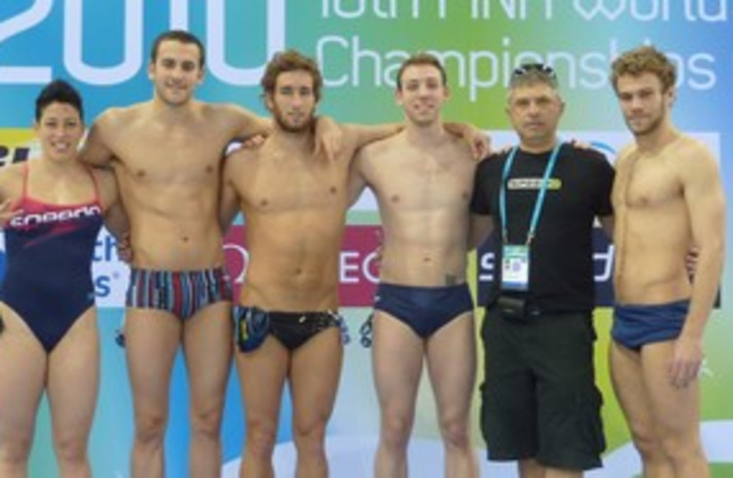 Israeli swimming team 311 (photo credit: Israel Swimming Association)
