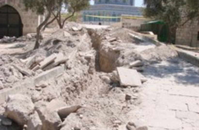 temple mount work 224.88 (photo credit: Courtesy)