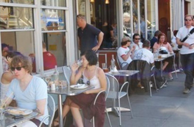 People sitting in cafe 311 (photo credit: Courtesy)