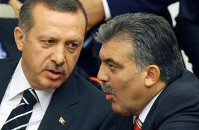Abdullah Gul Erdogan 298 (photo credit: Courtesy)