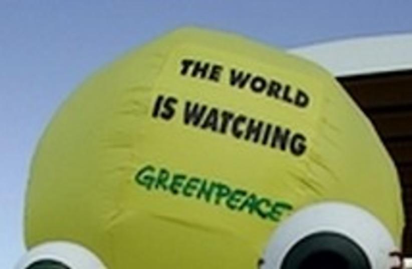 Greenpeace activists-224 (photo credit: )