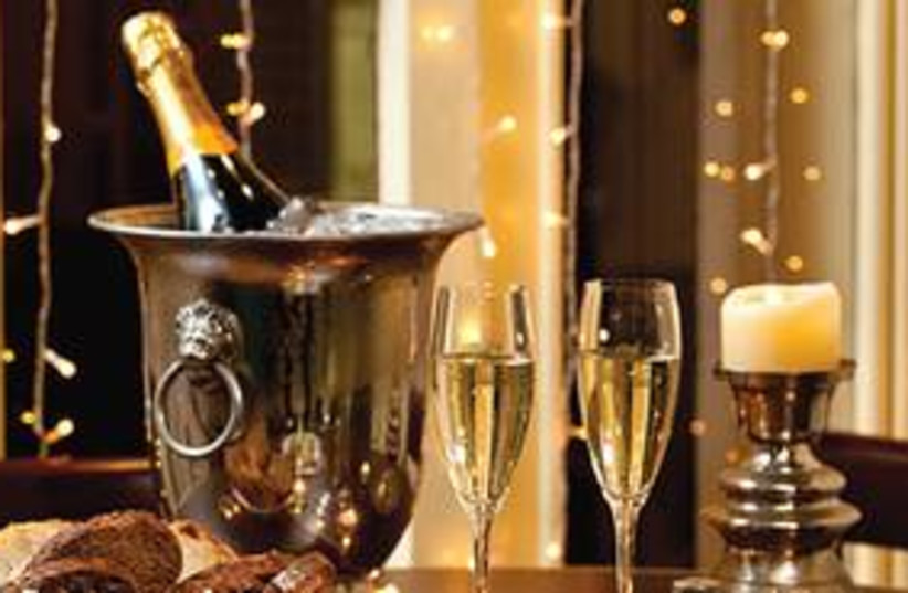 Champagne and glasses 311 (photo credit: Courtesy)
