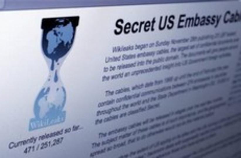 Wikileaks (photo credit: Associated Press)