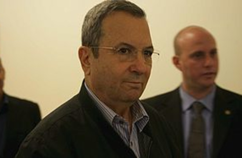 Barak stink-eye 311 (photo credit: Courtesy)