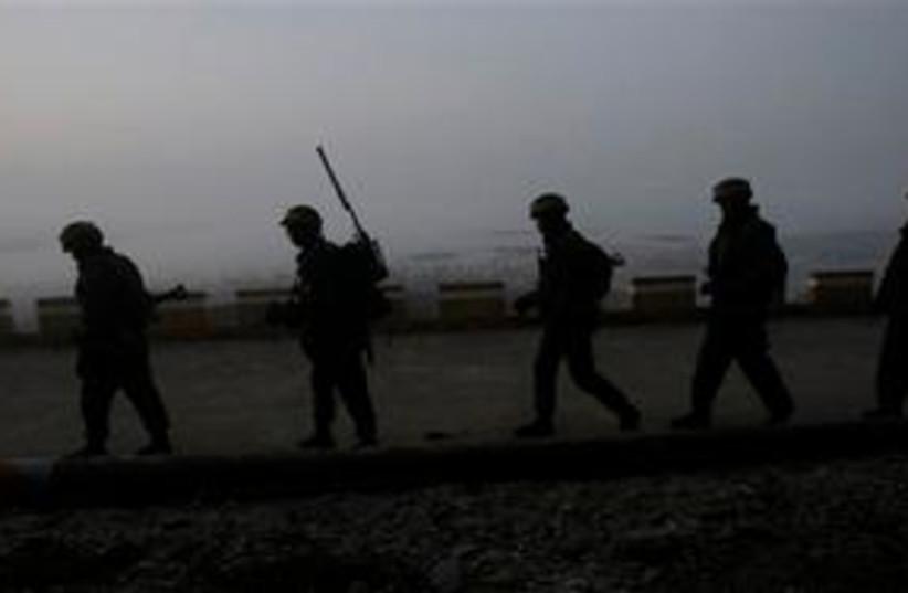 South Korean Marines 311 (photo credit: Associated Press)