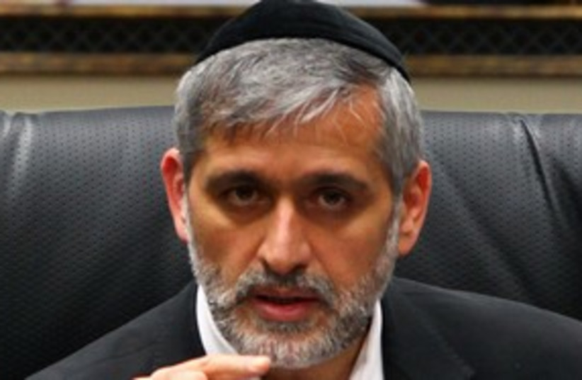 Eli Yishai 311 (photo credit: Marc Israel Sellem)