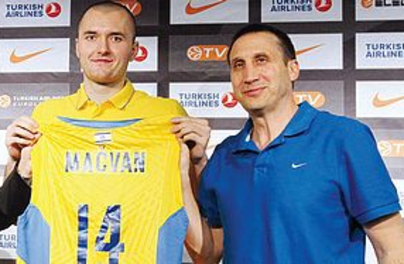 Serb Milan Macvan 311 (photo credit: Maccabi Tel Aviv Website)