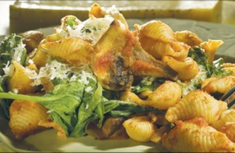 Pasta dish (photo credit: MCT)