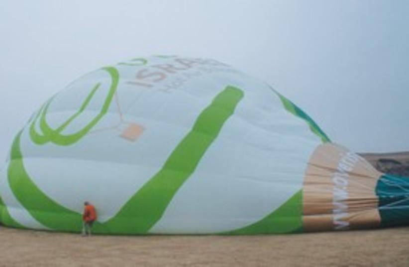 Hot air balloon (photo credit: Barry Davis)