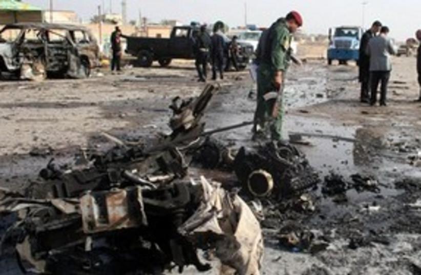 Iraq car bombing 311 AP (photo credit: AP)