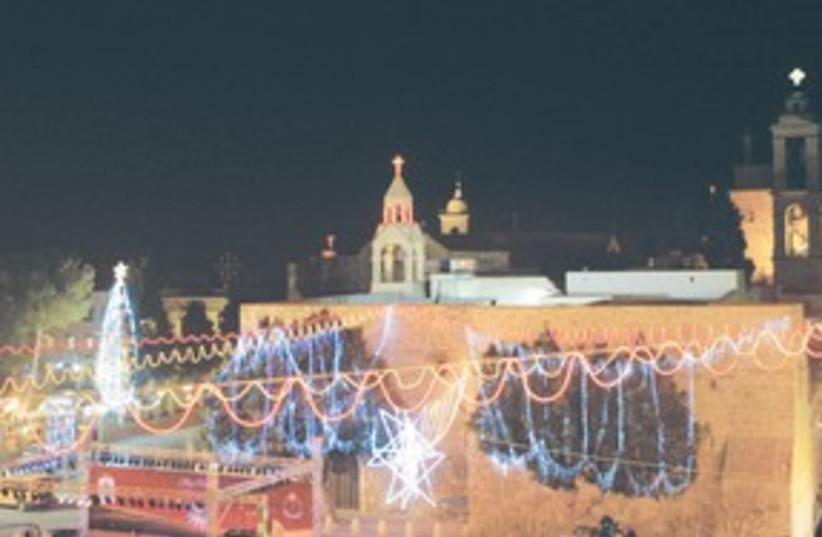 Bethlehem night 311 (photo credit: ASSOCIATED PRESS)