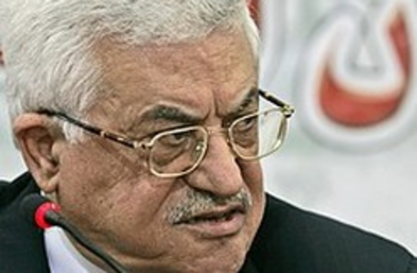 Palestinian Authority President Mahmoud Abbas. (photo credit: AP)